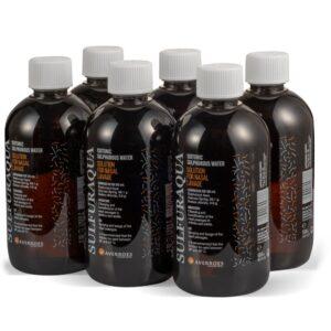 Agua Sulfurada Isotónica. Pack especial lavado de colon. Laboratorios Averroes