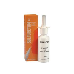 Sulfuretum. Spray nasal al agua sulfurada. Laboratorios Averroes