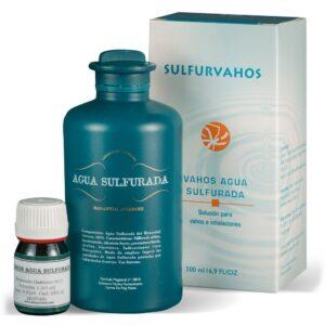 Sulfurvahos. Solución vahos al agua sulfurada